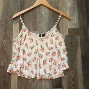 Floral crop top for SPRING